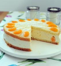jak zrobić sernik z mandarynkami, sernik z mandarynkami przepis, przepis na sernik z mandarynek, ciasto z mandarynkami