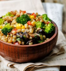 Dietetyczne obiady wegetariańskie - 7 przepisów
