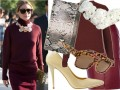 Olivia Palermo podczas Paris Fashion Week
