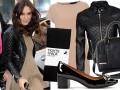 Keira Knightley w skórzanej kurtce