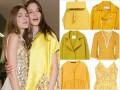 Żółte ubrania wiosna 2016