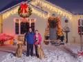 Dekoracje domu na Boże Narodzenie
