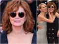 Susan Sarandon w seksownym dekolcie na Festiwalu w Cannes