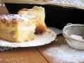 ciasto z jabłkami i budyniem przepis, przepis na ciasto z budyniem i jabłkami, ciasto jabłkowo budyniowe