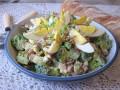 sałatka na wielkanoc przepis, sałatka z brokułami przepis, przepis na wielkanocną sałatkę z brokułami