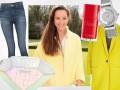 Dorota Czaja w żółtym płaszczu