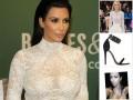 Kim Kardashian w kreacji Diora