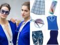 Niebieskie ubrania i dodatki na lato 2015