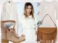 Natalia Siwiec w bieli na imprezie New Balance