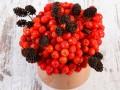jesienne bukiety, bukiety z jesiennymi kwiatami, bukiety na jesień