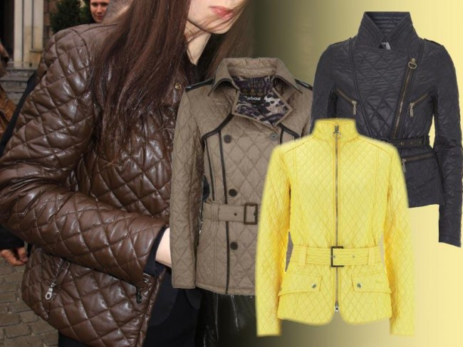 lekkie pikowane kurtki 2012