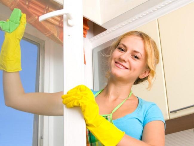 mycie okien, wiosenne porządki