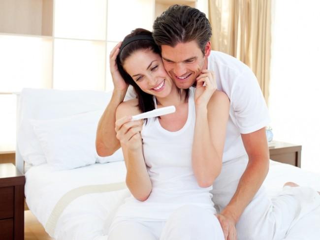 pozytywny test ciążowy