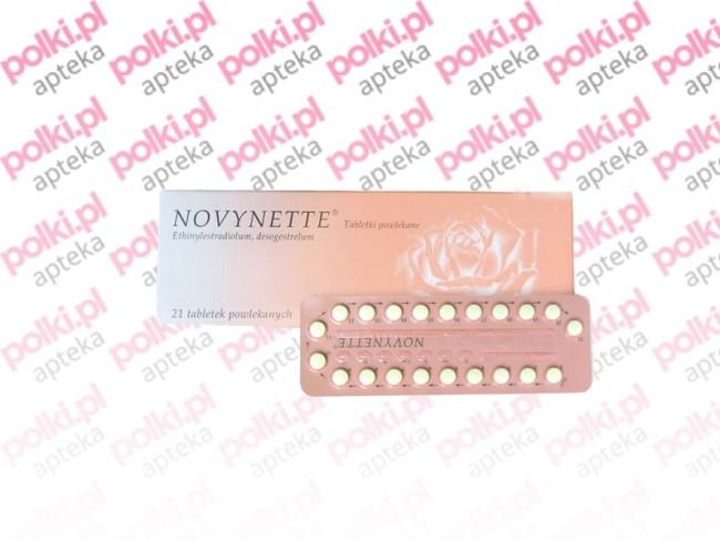 novynette - tabletki antykoncepcyjne