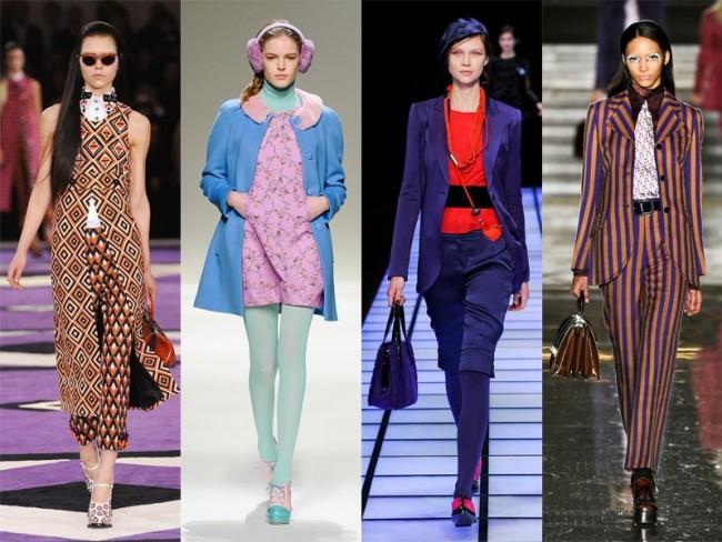 moda na jesień 2012 - retro
