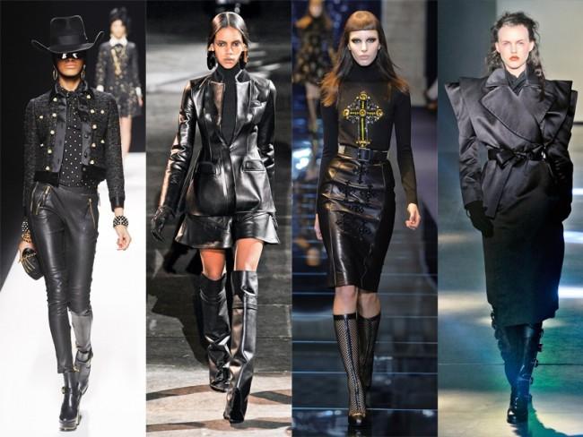 moda na jesień 2012 - mrocznie