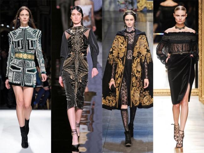 moda na jesień 2012 - średniowiecze