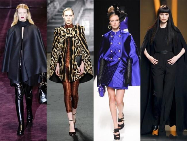 moda na jesień 2012 - peleryny