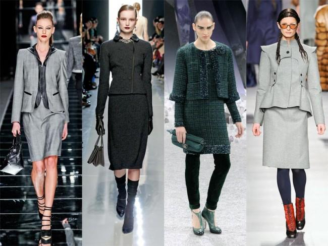 moda na jesień 2012 - garsonki