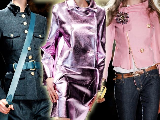 najmodniejsze modele kurtek na jesień 2012