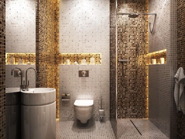 Urządzenie małej łazienki - porady - 6 sposobów -Wnętrza - Dom - Polki.pl