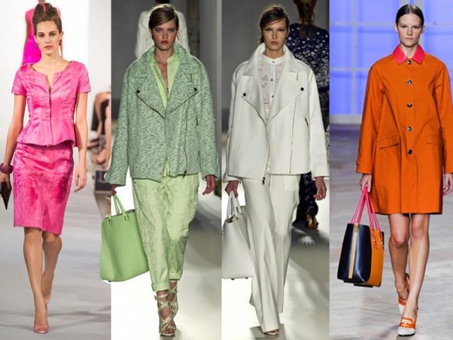 Modne kolory na wiosnę 2013