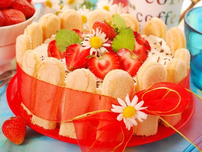 Ciasto z trusakwkami