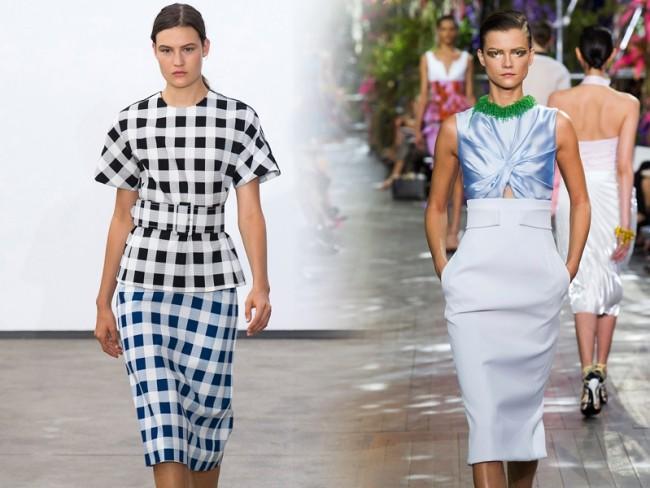 Modne spódnice, trendy wiosna-lato 2014