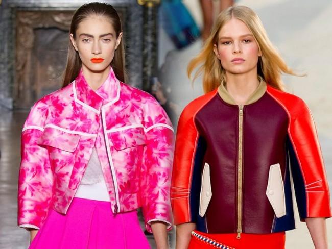 Modne kurtki, trendy wiosna-lato 2014