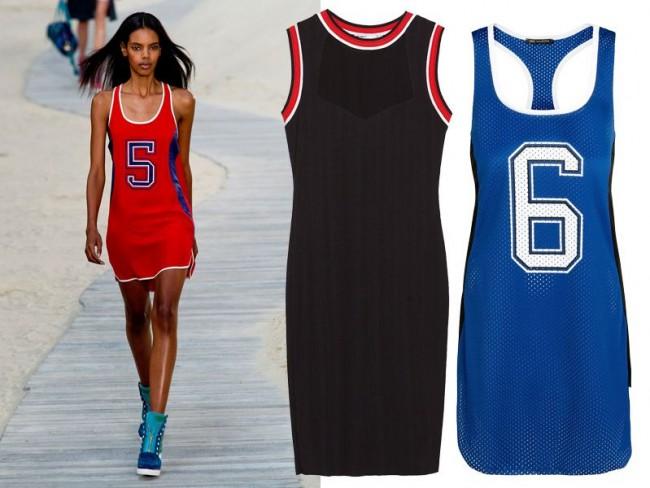 Modne sukienki wiosna-lato 2014, sukienki sportowe