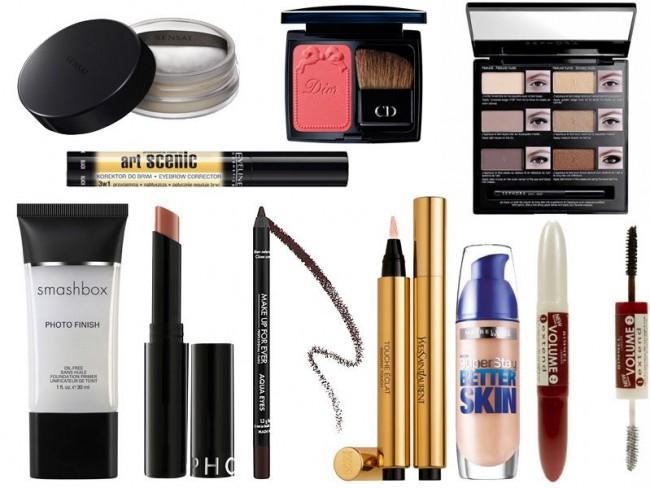 Makijaż gwiazd, makijaż krok po kroku, Uma Thurman