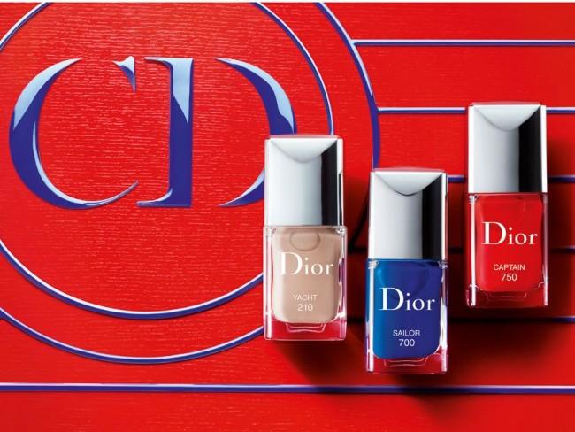 Lakiery do paznokci - Dior lato 2014