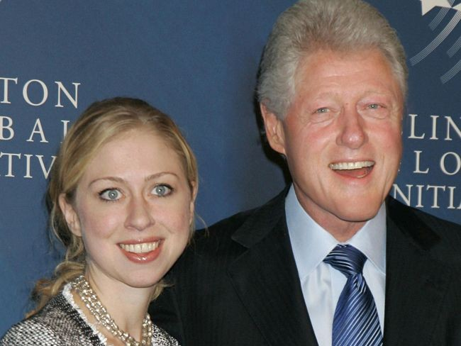 Bill i Chelsea Clinton