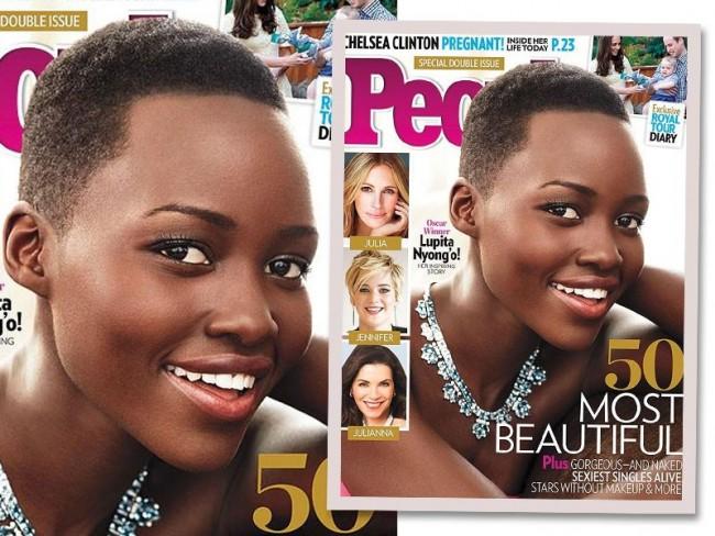 Lupita Nyong''o na okładce People Magazine