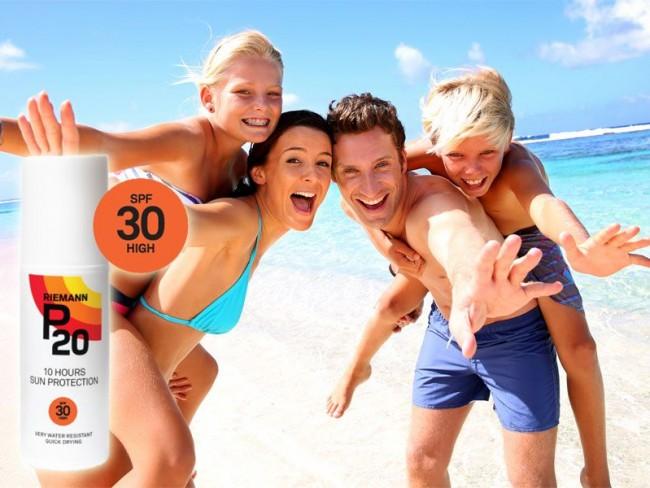 Active people in the sun - ochrona skóry przed słońcem