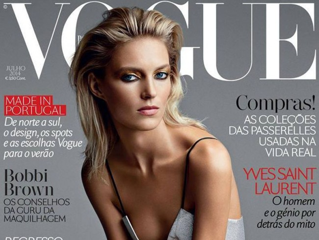 Anja Rubik dla Vogue Portugal