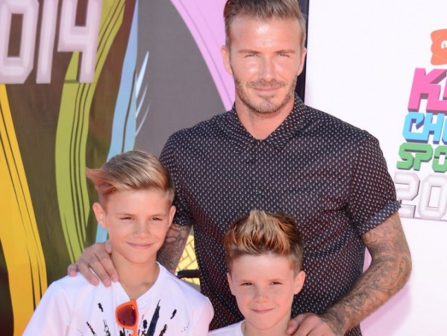 Beckham to supertata! Zdradza szczegóły swojego ojcostwa