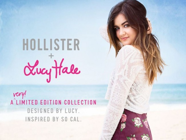 Lucy Hale dla Hollister