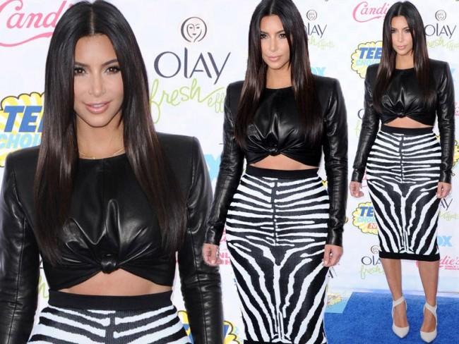 Kim Kardashian w Balmain