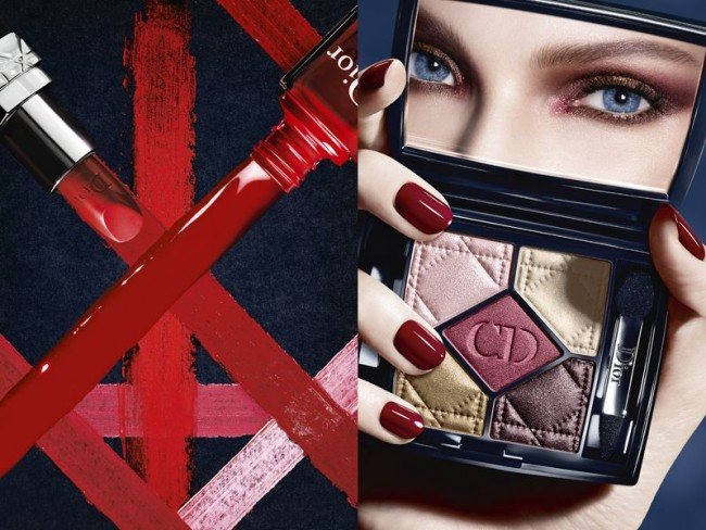 Dior - trendy w makijażu na jesień 2014