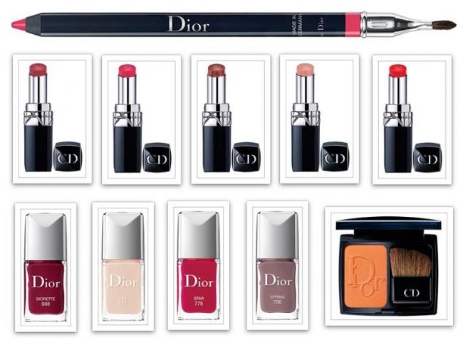 Dior - produkty na jesień 2014