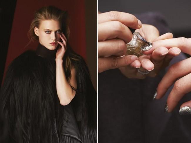 Givenchy - paznokcie i lakiery jesień 2014