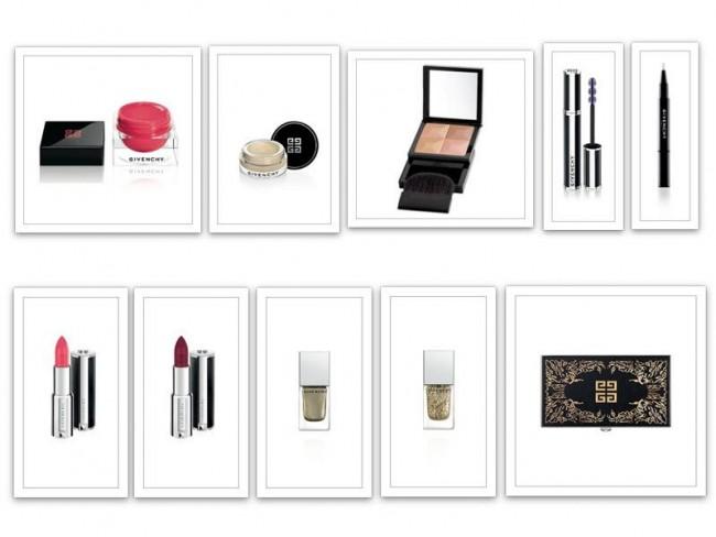 Makijaż Givenchy - jesień zima 2014/2015 produkty
