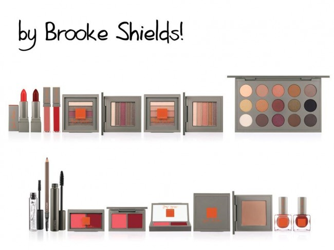 Make-up Brooke Shields