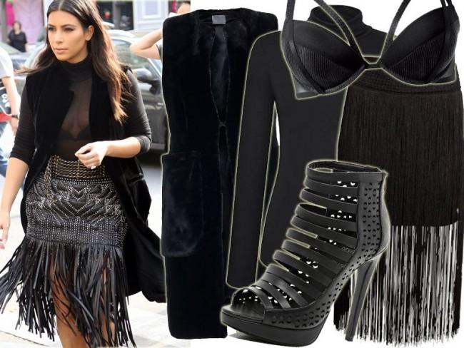 Kim Kardashian na Paris Fashion Week
