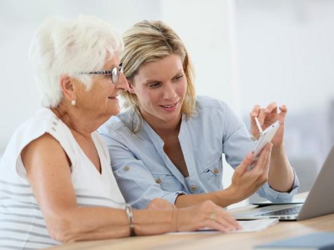 Opieka nad starsza osobą - test
