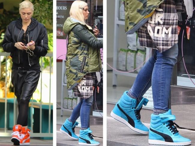 Gwen Stefani nosi buty Pumy