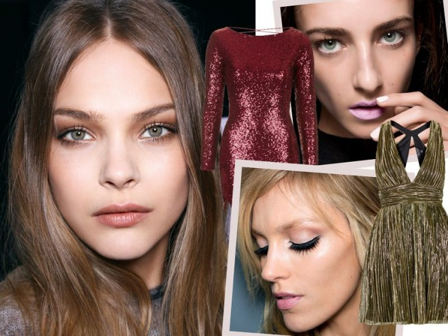 Jak dobrać makijaż do sukienki - Sylwester