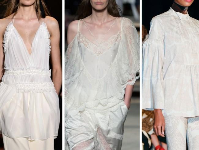 białe bluzki