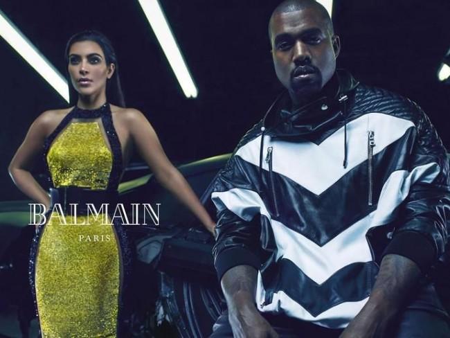 Kim Kardashian dla Balmain